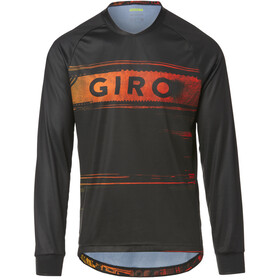Giro Roust LS Jersey Men black/red hypnotic